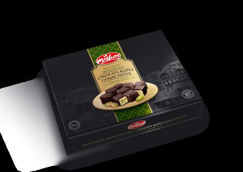 Çikolata Kaplı Antep Fıstıklı Çekme Helva 170g