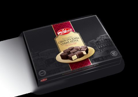 Çikolata Kaplı Sade Çekme Helva 360g